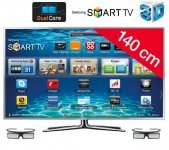 Telewizor LED Smart TV 3D UE55ES6900 + Okulary 3D Active SSG-3570CR 